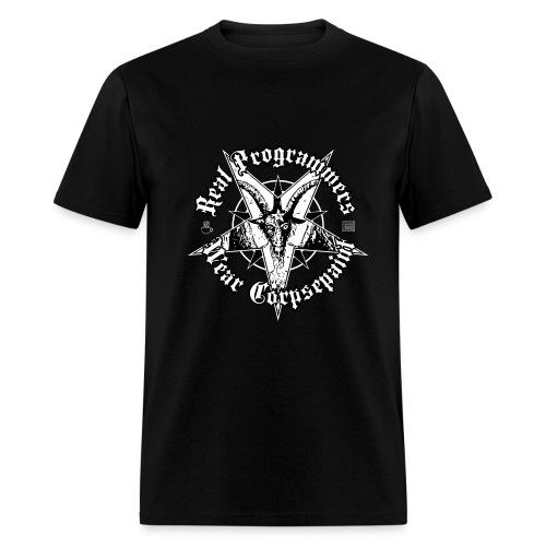 Real Programmers Wear Corpsepaint - Men's T-Shirt