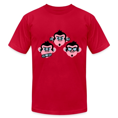 Three Wise Monkeys - Men's  Jersey T-Shirt