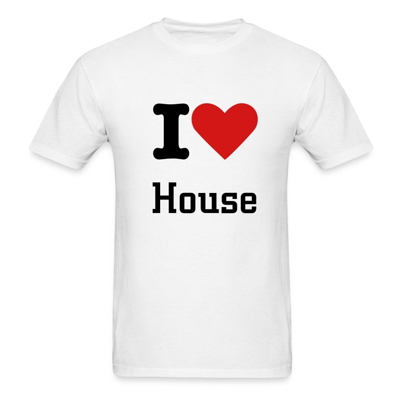 house - Men's T-Shirt