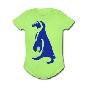 penguin baby suit - Short Sleeve Baby Bodysuit