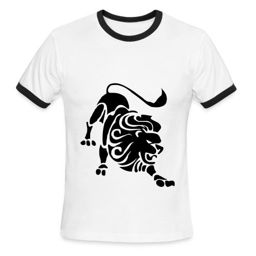 leo the lion tee - Men's Ringer T-Shirt
