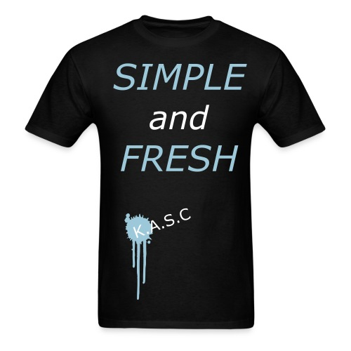 Simple and Fresh Tee - Men's T-Shirt