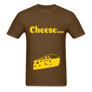 Cheese...immortality - Men's T-Shirt