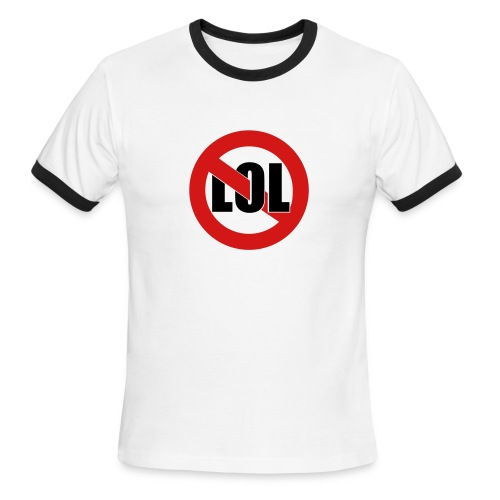 Lol - Men's Ringer T-Shirt
