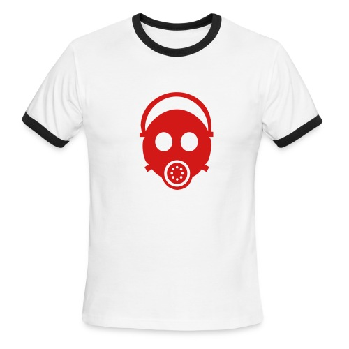 Mask - Men's Ringer T-Shirt