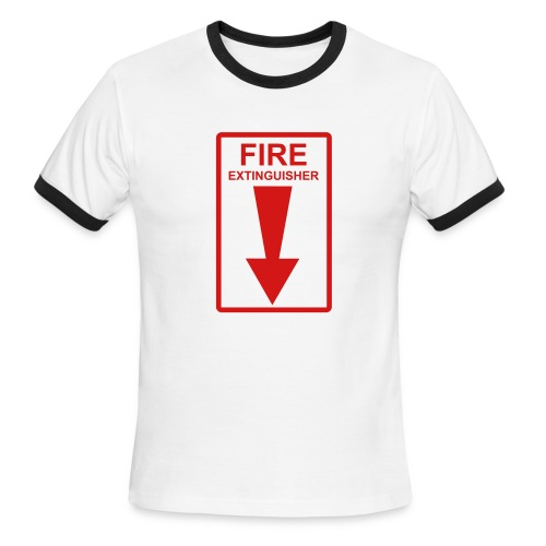 Fire - Men's Ringer T-Shirt