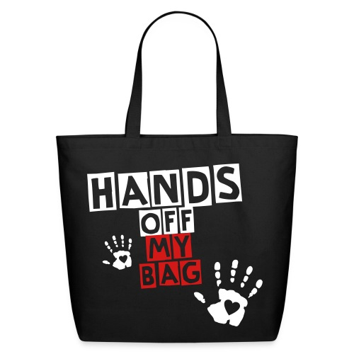 HandsoffMyBag - Eco-Friendly Cotton Tote