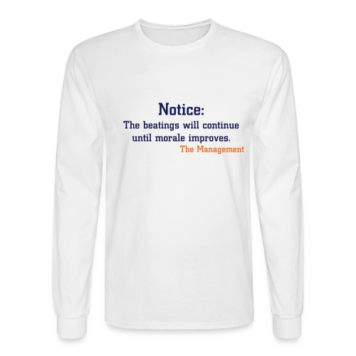 Humor - Men's Long Sleeve T-Shirt