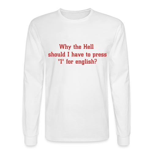 Interesting Question - Men's Long Sleeve T-Shirt