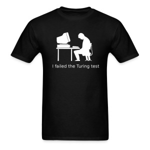 Turing test Tee (on Dark Choice) - Men's T-Shirt