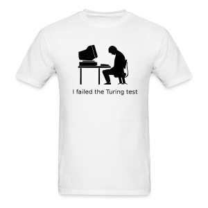 Turing test Tee (on Light Choice) - Men's T-Shirt