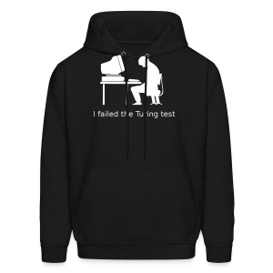 Turing test Hoodie - (on Dark Choice) - Men's Hoodie