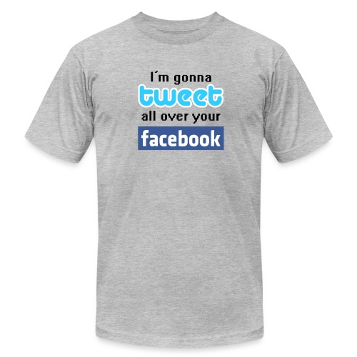 tweeter tee - Men's  Jersey T-Shirt