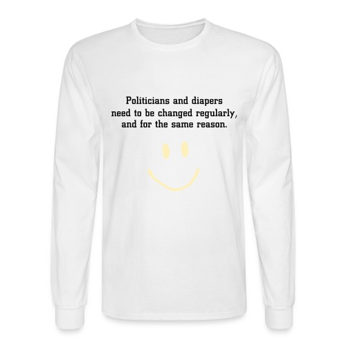 Political Humor - Men's Long Sleeve T-Shirt