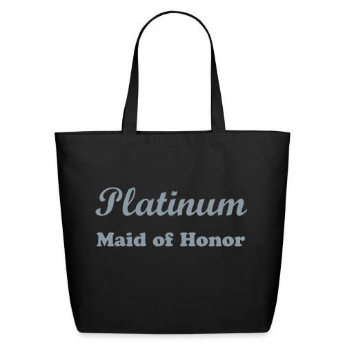 Platinum Maid of Honor Tote - Eco-Friendly Cotton Tote