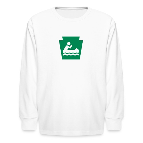 Boat PA Keystone - Kids' Long Sleeve T-Shirt
