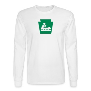 Boat PA Keystone - Men's Long Sleeve T-Shirt