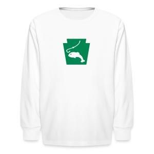 Fish PA Keystone - Kids' Long Sleeve T-Shirt