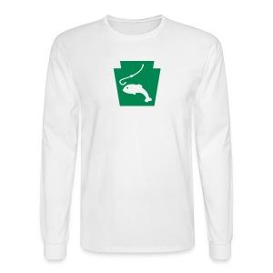 Fish PA Keystone - Men's Long Sleeve T-Shirt