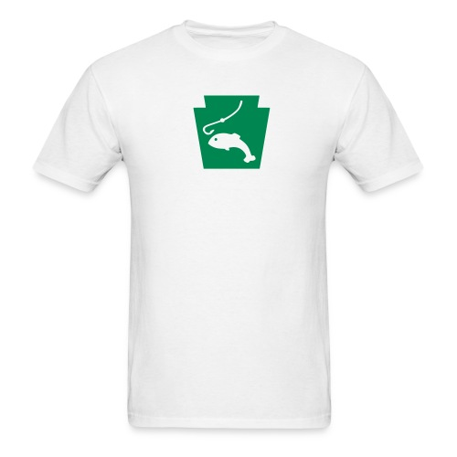 Fish PA Keystone - Men's T-Shirt