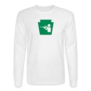 Hunt PA Keystone - Men's Long Sleeve T-Shirt