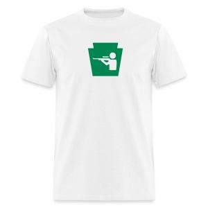 Hunt PA Keystone - Men's T-Shirt