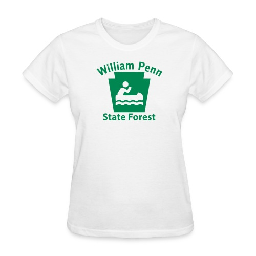 William Penn State Forest Keystone Boat - Women's T-Shirt