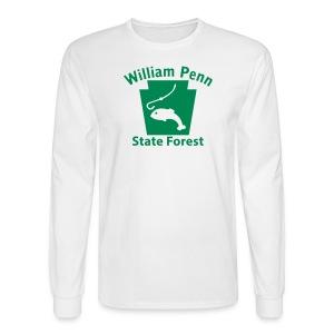 William Penn State Forest Keystone Fish - Men's Long Sleeve T-Shirt