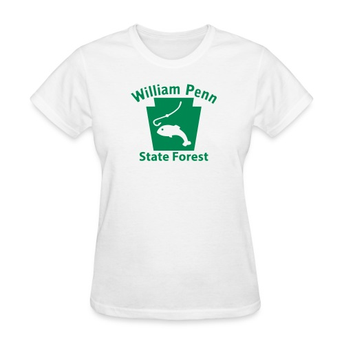 William Penn State Forest Keystone Fish - Women's T-Shirt