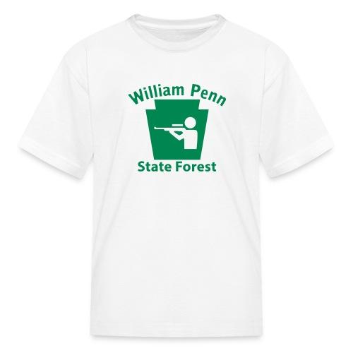 William Penn State Forest Keystone Hunt - Kids' T-Shirt