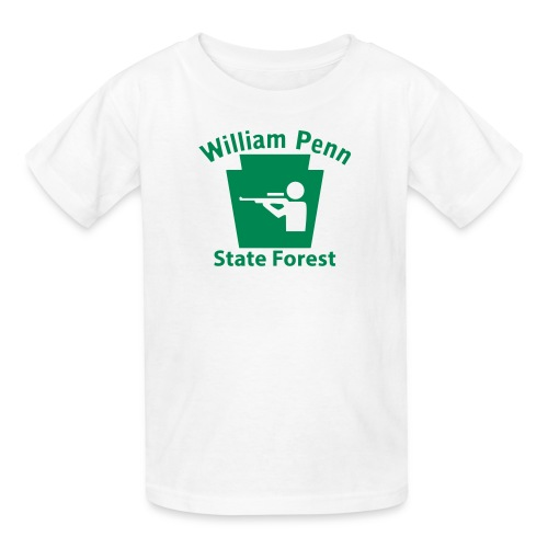 William Penn State Forest Keystone Hunt - Kids' T-Shirt