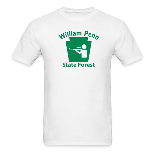William Penn State Forest Keystone Hunt - Men's T-Shirt