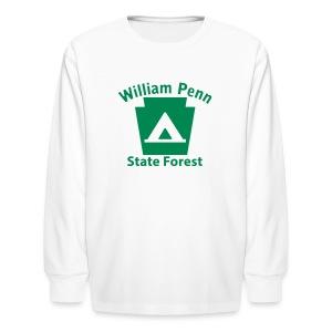William Penn State Forest Keystone Camp - Kids' Long Sleeve T-Shirt