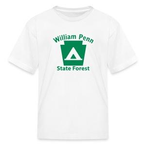 William Penn State Forest Keystone Camp - Kids' T-Shirt