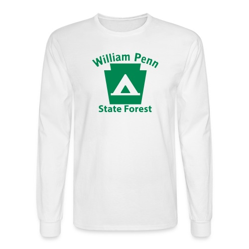 William Penn State Forest Keystone Camp - Men's Long Sleeve T-Shirt
