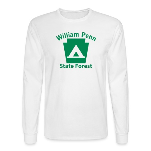 William Penn State Forest Keystone Camp - Men's Long Sleeve T-Shirt