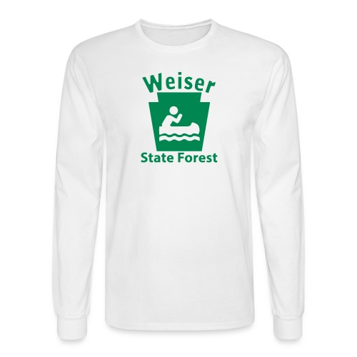 Weiser State Forest Keystone Boat - Men's Long Sleeve T-Shirt