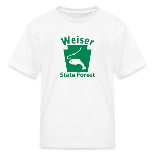 Weiser State Forest Keystone Fish - Kids' T-Shirt