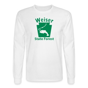 Weiser State Forest Keystone Fish - Men's Long Sleeve T-Shirt