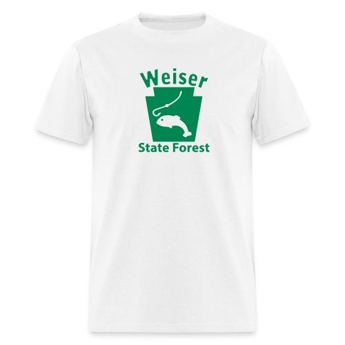 Weiser State Forest Keystone Fish - Men's T-Shirt