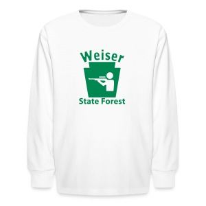 Weiser State Forest Keystone Hunt - Kids' Long Sleeve T-Shirt