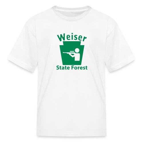 Weiser State Forest Keystone Hunt - Kids' T-Shirt