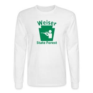 Weiser State Forest Keystone Hunt - Men's Long Sleeve T-Shirt