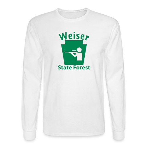 Weiser State Forest Keystone Hunt - Men's Long Sleeve T-Shirt