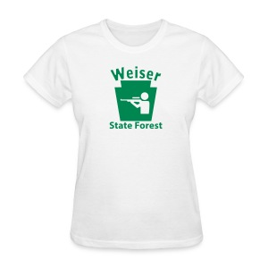 Weiser State Forest Keystone Hunt - Women's T-Shirt