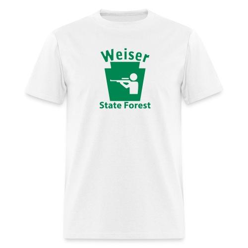 Weiser State Forest Keystone Hunt - Men's T-Shirt