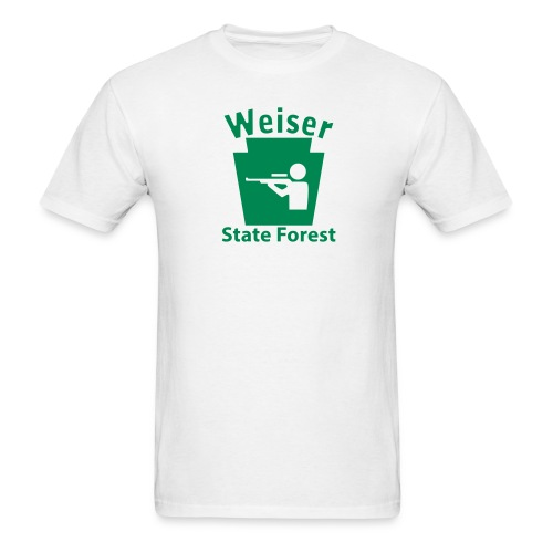 Weiser State Forest Keystone Hunt - Men's T-Shirt