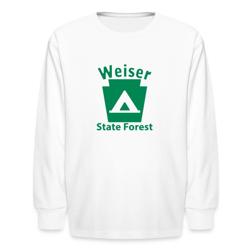 Weiser State Forest Keystone Camp - Kids' Long Sleeve T-Shirt