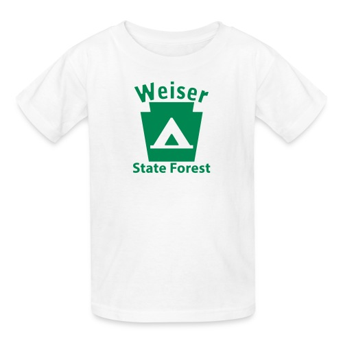 Weiser State Forest Keystone Camp - Kids' T-Shirt