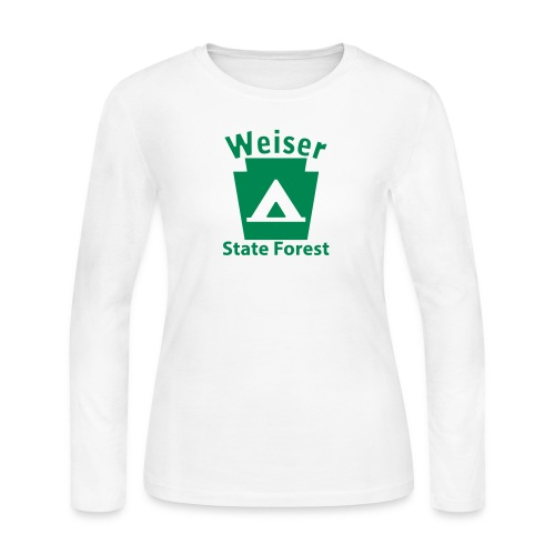 Weiser State Forest Keystone Camp - Women's Long Sleeve Jersey T-Shirt